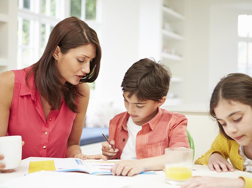 pautas para los deberes de tus hijos